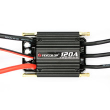 120A Electronic Speed Controller BEC ESC Cooling Brushless Ship RC Boats