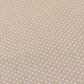 1 Piecel Stampato Tessuto 100% Cotone Milktea Polk Dots Tilda Stoffa Per Cucire Patchwork Quilting Tessuto Per I Giocattoli Del Raccoglitore 50*50 Cm Pb096