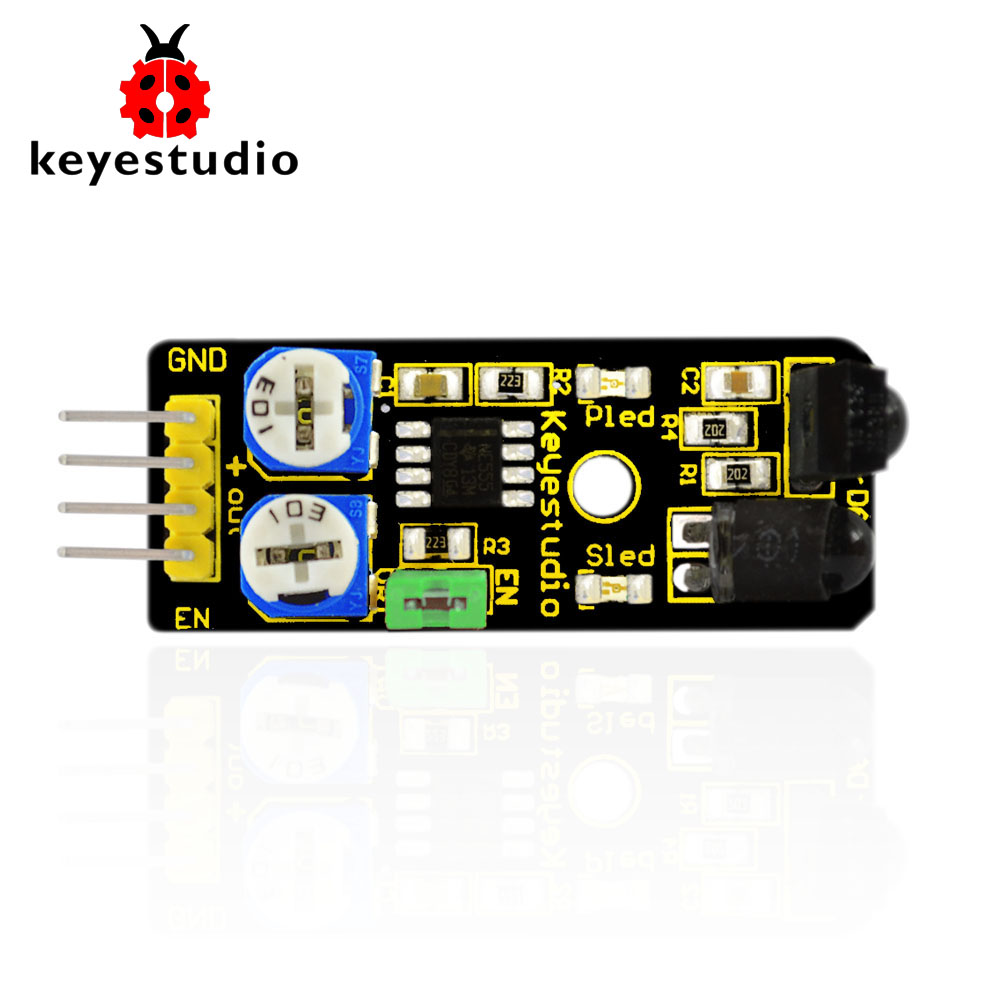 Free shipping Keyestudio IR Infrared Obstacle Avoidance font b Sensor b font Module for font b