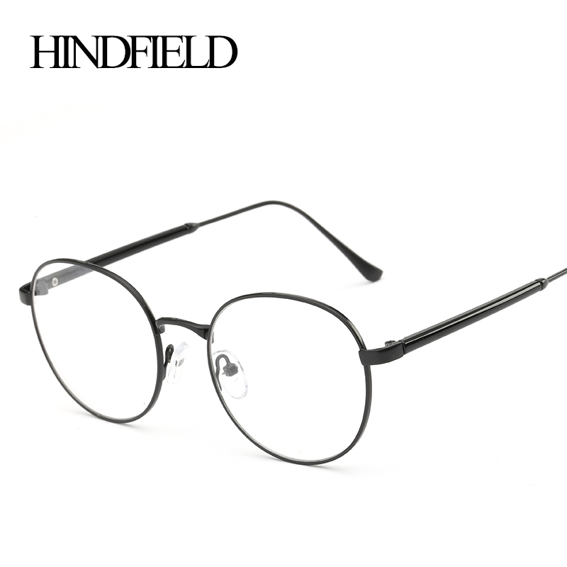 921d97e5a8d07 HINDFIELD 2016 New Style Vintage Glasses Women Glasses Frame Round  Eyeglasses Frame Optical Frame Glasses Oculos