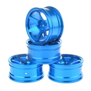 1/10 RC Drift Car Aluminium Alloy Wheel Hubs Diameter 52mm for HSP Sakura HPI Kyosho Tamiya RC Car