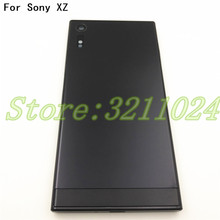 Original Full Housing For Sony Xperia XZ F8332 F8331 Battery Cover Door Rear Chassis Frame Back Case