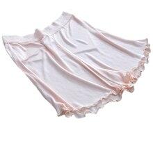 Женские шелковые кружевные бриджи высокого качества, 4 цвета