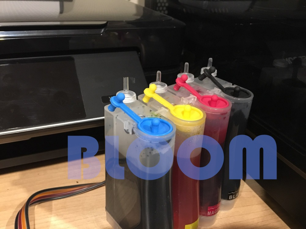 Image 5 - BLOOM T0711  T0714 71 Continuous Ink Supply System CISS for Epson Stylus S20 S21 SX100 SX110 SX105 SX115 SX200 SX205 SX209 SX210Continuous Ink Supply System   -