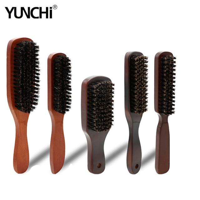 Cepillo de afeitar para hombre, depilación Facial, Barba, barbería, cepillo, cerdas, mango de madera, maquinilla de afeitar, juego de herramientas de accesorios