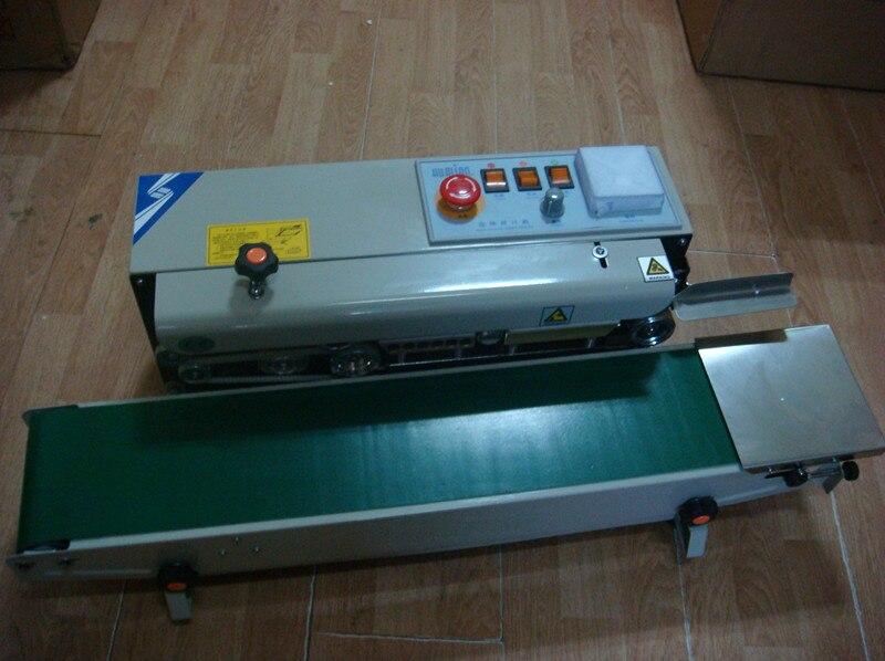 1 sets FRB-770I Electrical plastic aluminum foil bags sealing automatic impulse experiation date stamp 220V цены