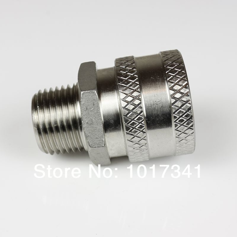 Stainless Female Quick Disconnect Set 1/2