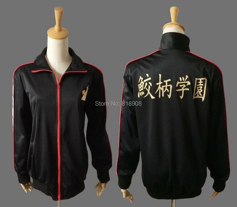 Iwatobi Swim Club škola kostým uniforma Rin Matsuoka Deluxe Edition - Kostýmy
