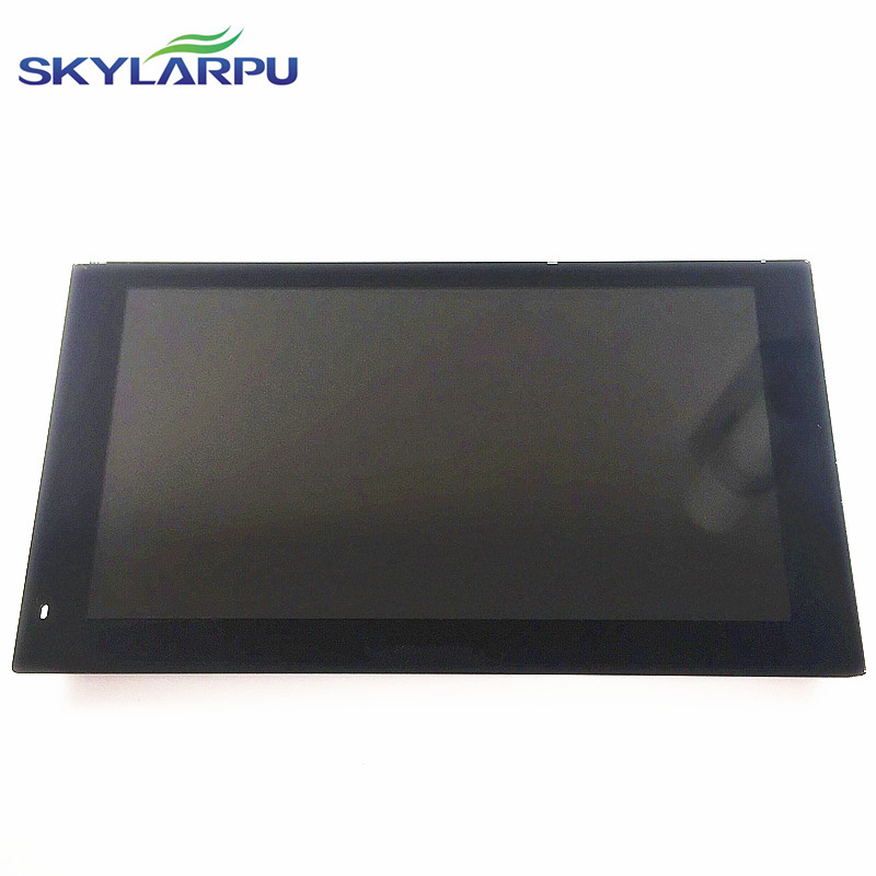 skylarpu 6 inch LCD screen for Garmin nuviCam LMT HD GPS Navigation display screen with touch screen digitizer panel 7 inch gps lcd screen e navigation luhang x10 x9 display screen portable navigator in screen