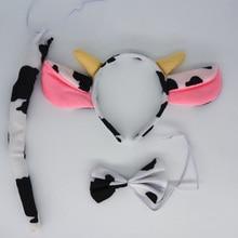 Headband Cosplay Wedding Favor-Costume Birthday Party Milk Halloween Ear Animal Xmas