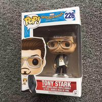 Exclusive Funko Pop Official Spider Man Homecoming Tony Stark Spider Man Vinyl Action Figure Collectible Model