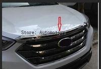 Front Hood abdeckung trim für Hyundai Santa Fe sport 2013 2014 2015 2016 2017-in Armlehnen aus Kraftfahrzeuge und Motorräder bei