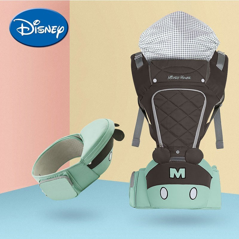 цена на Disney Baby Backpacks Breathable Multifunctional Front Facinig Baby Carrier Infant Baby Sling Backpack Pouch Wrap Accessories