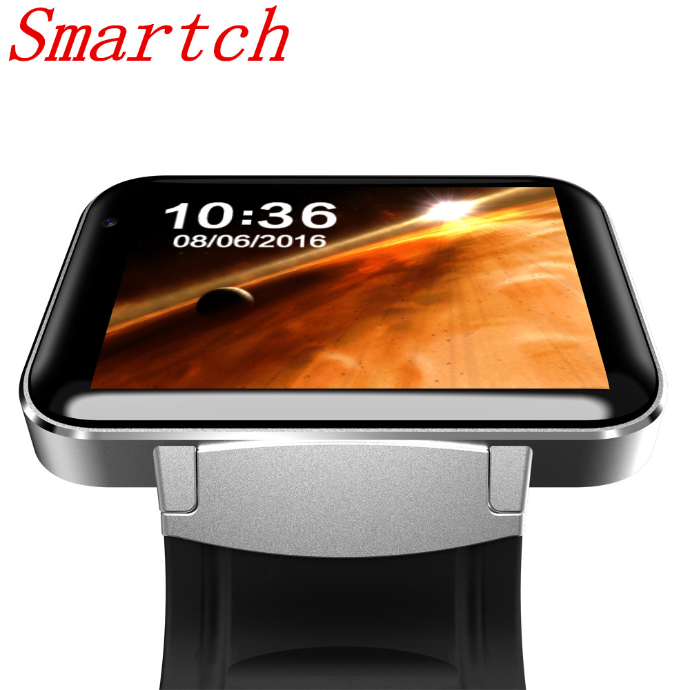 Smartch DM98 Smart watch MTK6572 1.2Ghz 2.2 inch IPS HD 900mAh Battery 512MB Ram 4GB Rom Android 3G WCDMA GPS WIFI smartwatch interpad dm98 smart watch big screen 2 2 inch ips hd huge 900mah battery android phone clock support gps wifi sim smartwatch