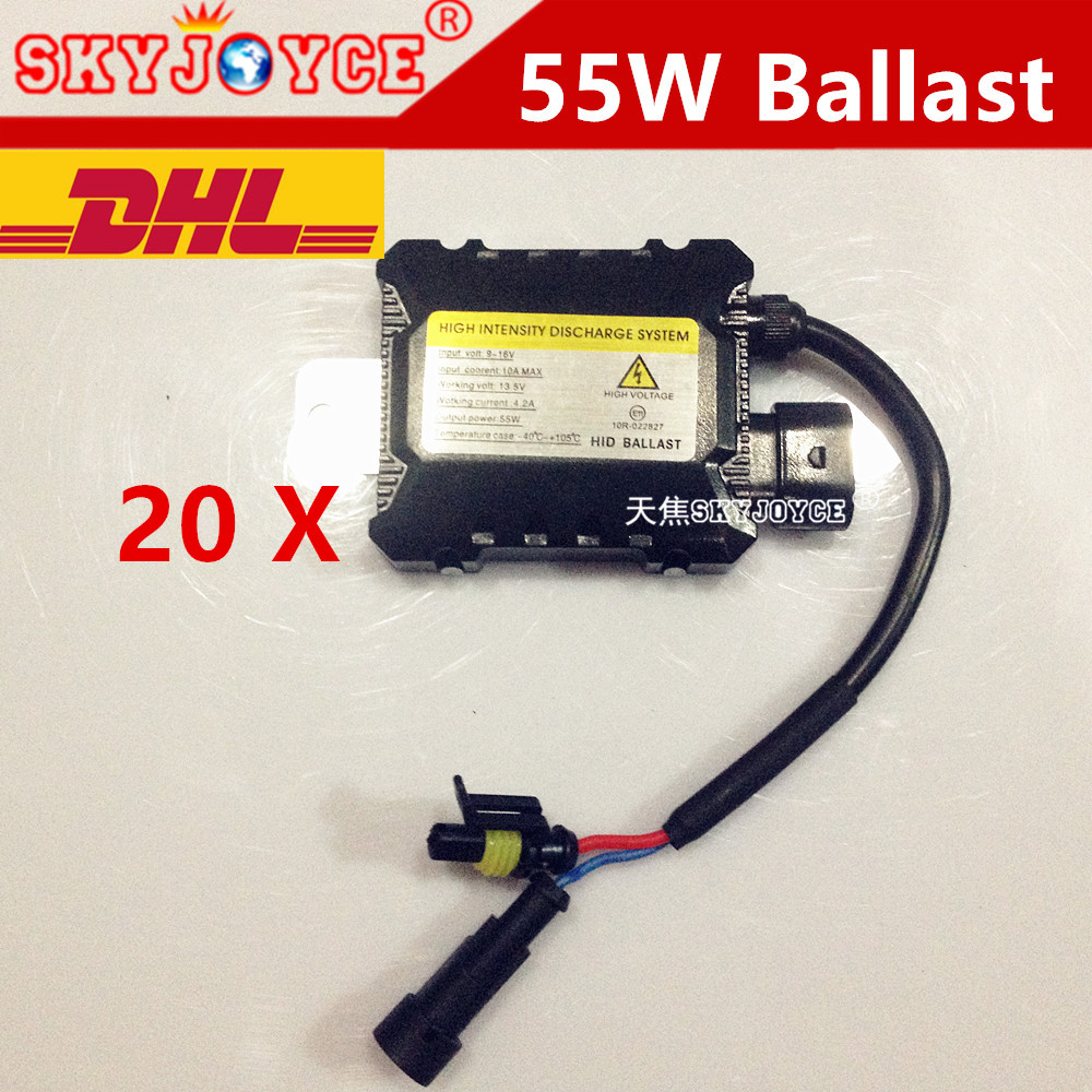 20XDHL freeshipping DC slim ballast xenon hid ignition blocks for hid kit xenon H7 purple pink green blue yellow 3000K H11 led gztophid made in japan denso ballast d4s d4r xenon ballast