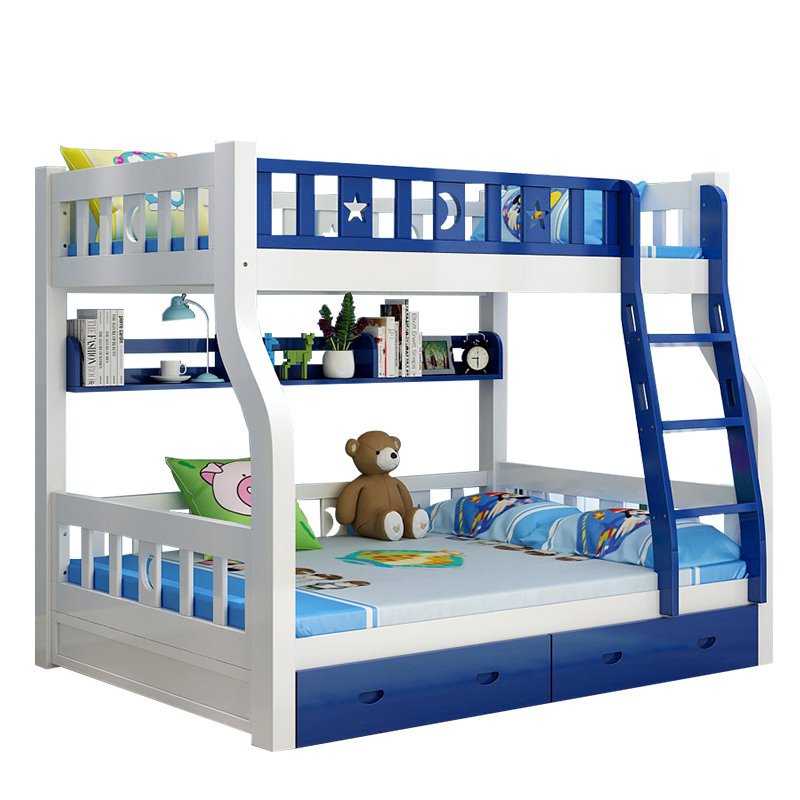 Home Literas De Madera Yatak Odasi Mobilya Set Recamaras Bett Room Totoro Mueble Moderna Cama bedroom Furniture Double Bunk Bed