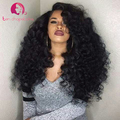 200% Density Thick Human Hair Body Wave Wigs For Black Woman Glueless Full Lace Wig With Baby Hair Lace Front Wig Brazilian Hair