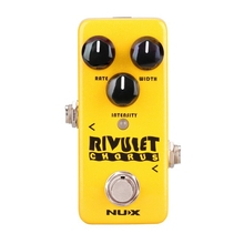 NUX NCH-2 RIVULET Chorus Guitar Effect Pedal Buffered/ True Bypass Supports USB Firmware Upgrade Ultra low noise Pedal new 1sets usb msp430 simulator the msp fet430uif bsl sbw jtag automatic upgrade firmware msp430 usb programmer