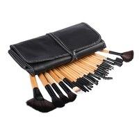 Professional 24 Pcs Makeup Brush Set Tools Toiletry Kit Wool Make Up Goat Hair Brushes Set