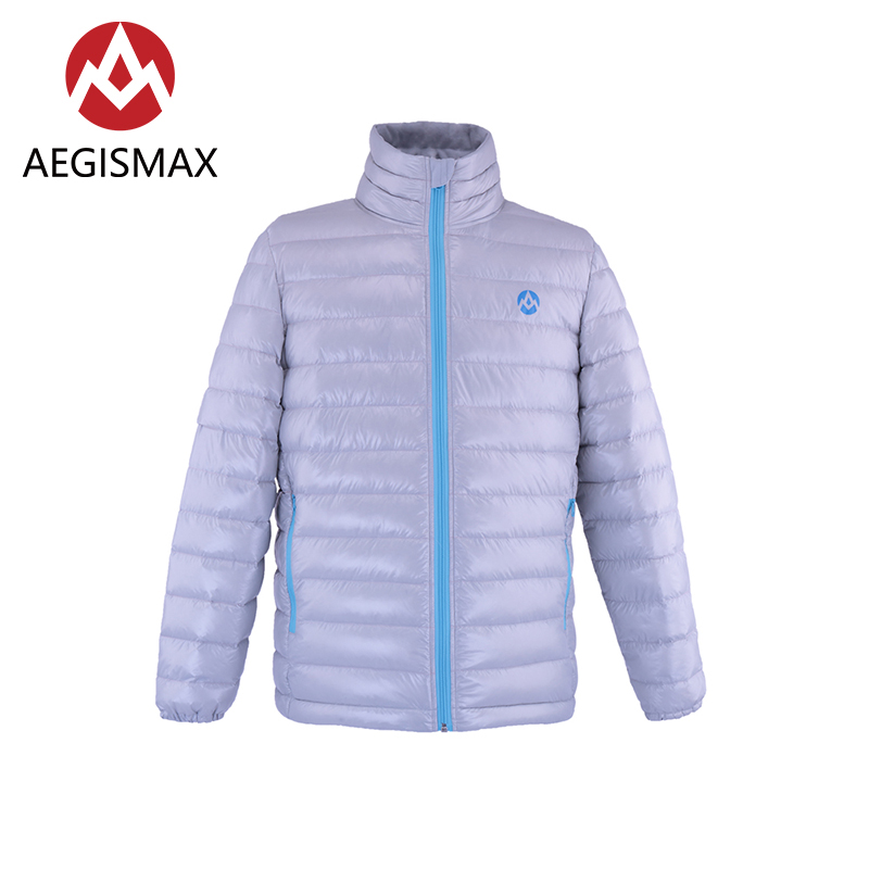 AEGISMAX 800FP White Goose Down Jackets Down Unisex Ultra Light Outdoor Camping Hiking Keep Warm