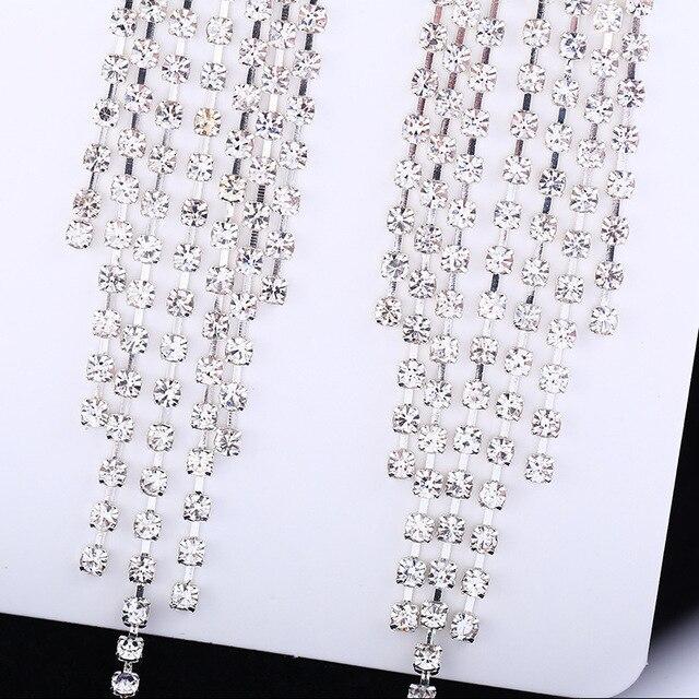Купить модные серьги клипсы для невесты без пирсинга женщин отверстия