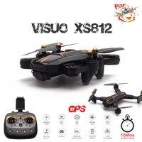 VISUO XS812 GPS RC Drone avec caméra 4K HD 5G WIFI FPV Altitude tenir une clé retour quadricoptère RC hélicoptère VS SG900 S20 Dron|Hélicoptères télécommandés|   -