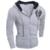 2016 Marca de Moda Homens Zipper Hoodies Moletons Impressão Magro Dos Homens Sportswear Terno Dos Homens Casaco Tamanho M-XXL