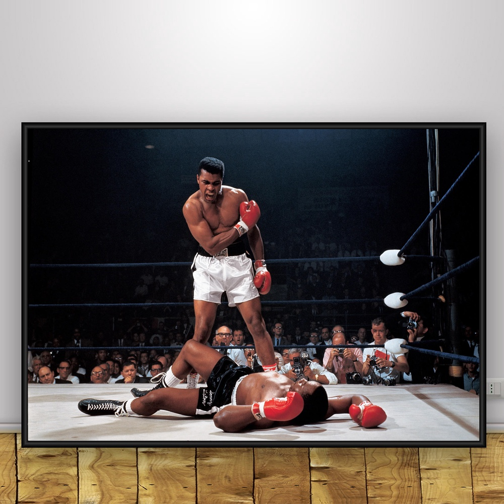 Muhammad Ali The Greatest Boxer Boxing Art Silk Poster 12x18 24x36