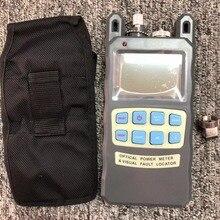 משלוח קניות FTTH סיב האופטי power meter  70 כדי + 10dBm ו 10mw 10km סיבים אופטי כבל בודק חזותי תקלת Locator VFL