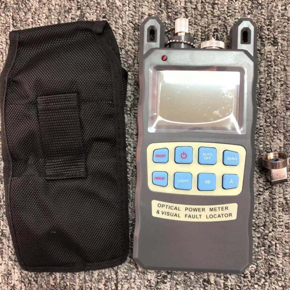 Free shopping De Fibra FTTH medidor de potência óptica-70 a + 10dBm e 10 mw 10 km Cabo De Fibra Óptica tester VFL Localizador Visual de Falhas