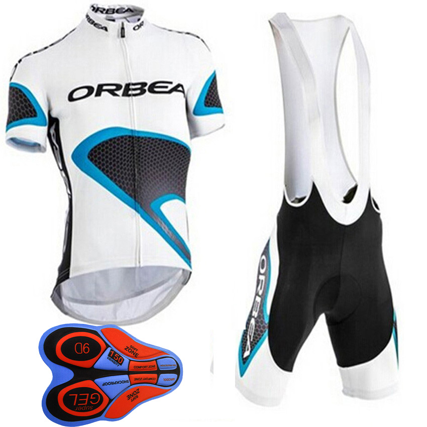 New 2018 Summer ORBEA Cycling jersey Short sleeve Breathable bicycle Clothing Pro MTB bike maillot Ropa Ciclismo 9D gel pad