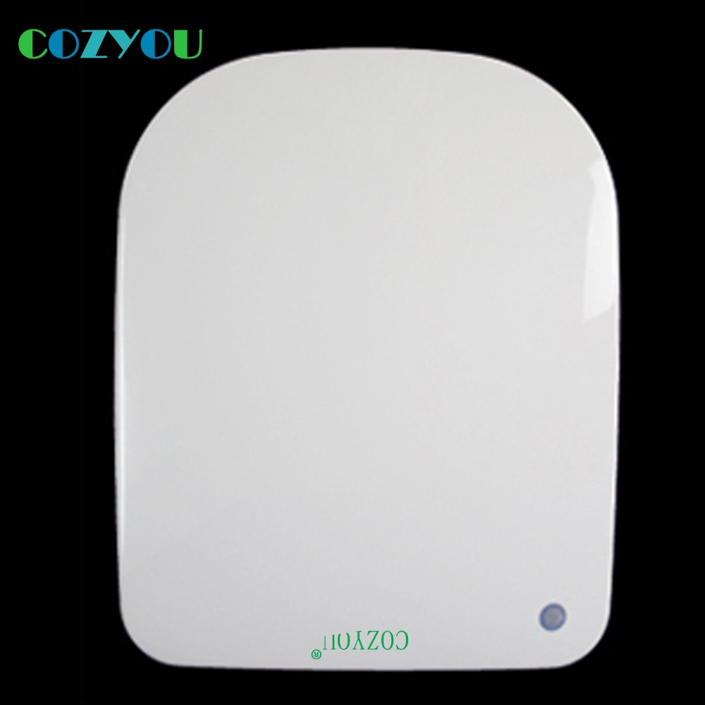 PP Toilet seat GBP17315SF White Square Slow sofe Close slow close above installation length 430mm to 485mm,width 350mm to 370mm gbf17258sv urea formaldehyde material ultra thin high density toilet seat slow close v shaped installed above quick disassembly