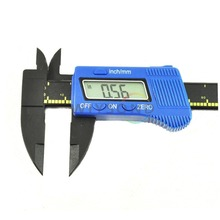 Cheapest prices C002 6″ Inch / 150 mm Carbon Fiber Composites LCD Vernier Digital Gauge Caliper FREE SHIPPING