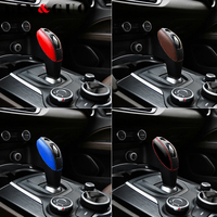Car modification High quality ABS Chrome steering wheel decorative sticker for Alfa romeo giulia stelvio car styling