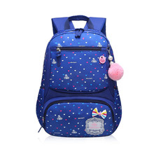 Lovely Girls School Bags Children Backpack Primary Bookbag Princess Backpack Schoolbags Fashion School Backpacks For Girls(China)
