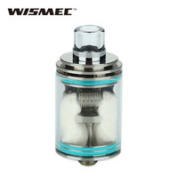 Selling WISMEC Theorem RTA Atomizer Detachable Structure Adjustable Airflow Top Filling 2 7ml Rebuildable Tank Cartomizer