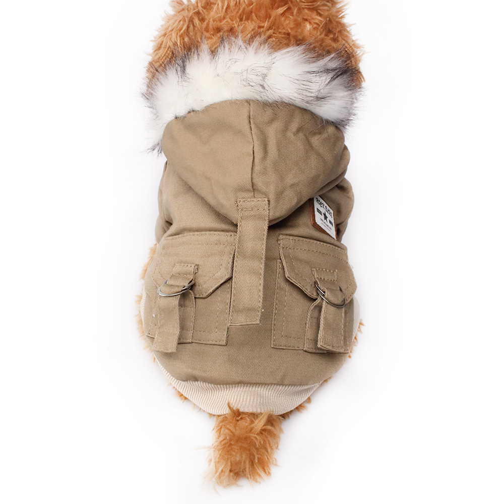 Leisure Fashion Warm Dog Coat Dogs Winter Jackets Coats 6141045 Pet Clothes Supplies-in Dog