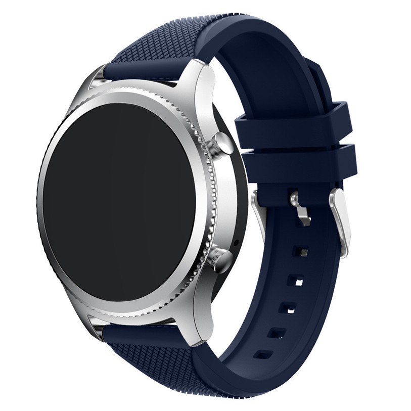 Superior Replacement New Fashion Sports Silicone Bracelet Strap Watch Band For Samsung Gear S3 Frontier Ma20