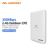 300 Mbps Long Range Wireless outdoor Router AP Comfast QCA9531 Dual 16dBi Wi fi Outdoor-netzwerk Brücke Nanostation wifi CPE