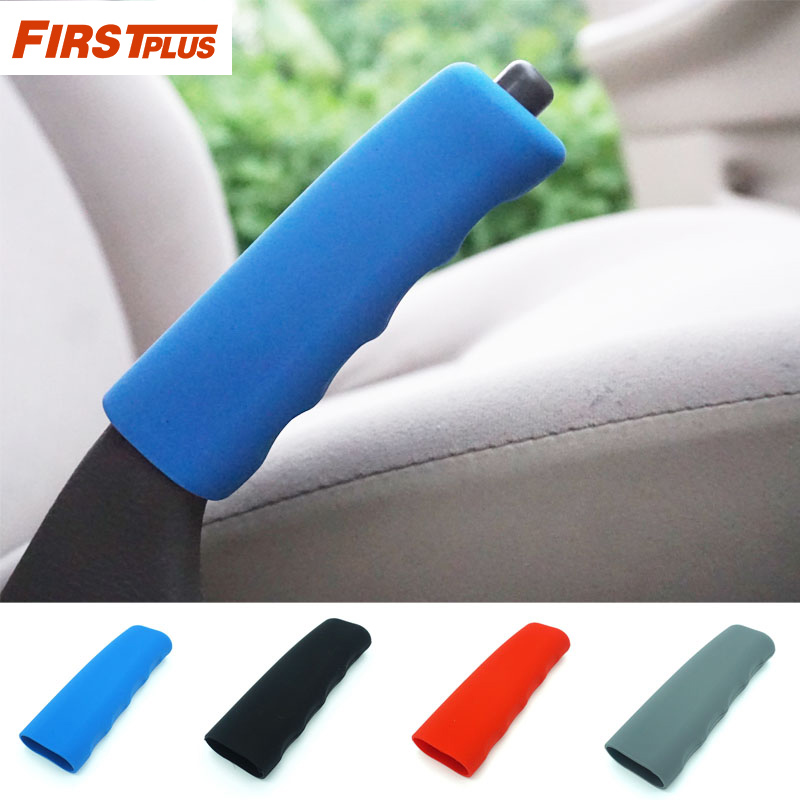 Anti-slip Car Handbrake Covers Sleeve Silicone Gel Case Parking Hand Brake Grips Sleeve Universal Decoration