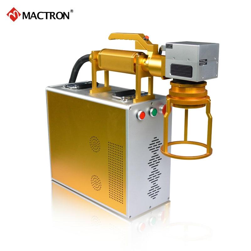Marcatore laser portatile Mactron marca 20W fibra portatile per - Attrezzature per la lavorazione del legno - Fotografia 3