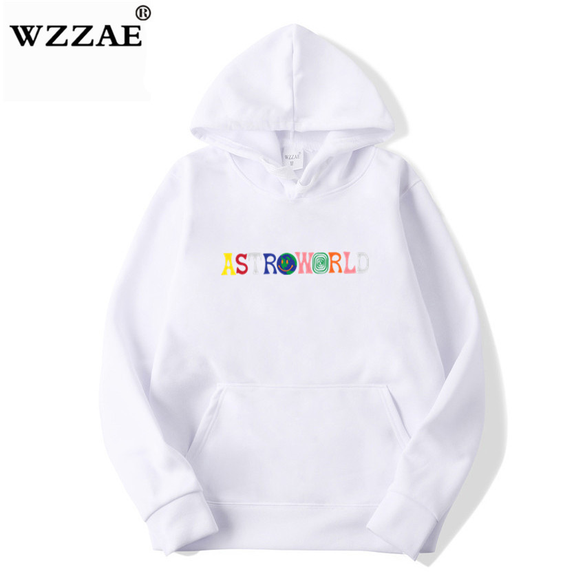 TRAVIS SCOTT ASTROWORLD WISH YOU WERE HERE HOODIES fashion letter ASTROWORLD HOODIE streetwear Man woman Pullover Sweatshirt 24