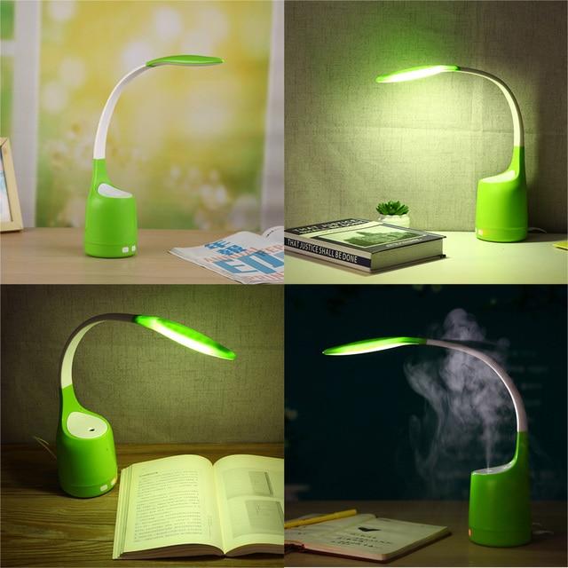 Modern Desk Lamp LED Torch Lamp Bedside Study Reading Lighting Foldable Table  Lamp Chargeable Desk Lamp