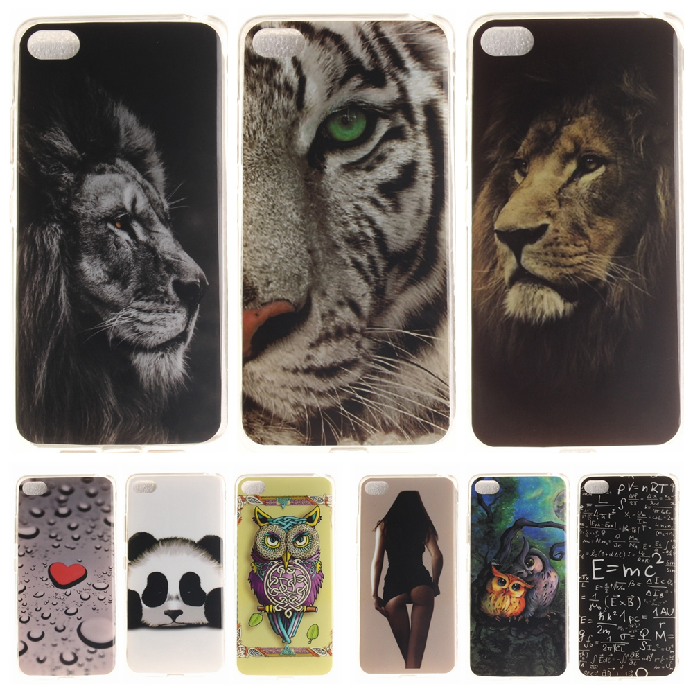 Cartoon <font><b>Phone</b></font> <font><b>Case</b></font> for Coque Lenovo Sisley S90 S90T S90U Soft Silicon Cover for Lenovo S 90 <font><b>Panda</b></font> Lion TPU Back Protective <font><b>Cases</b></font>