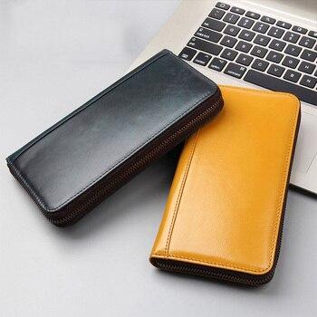 SIKU genuine leather men wallets Fashion purse famous brand wallet