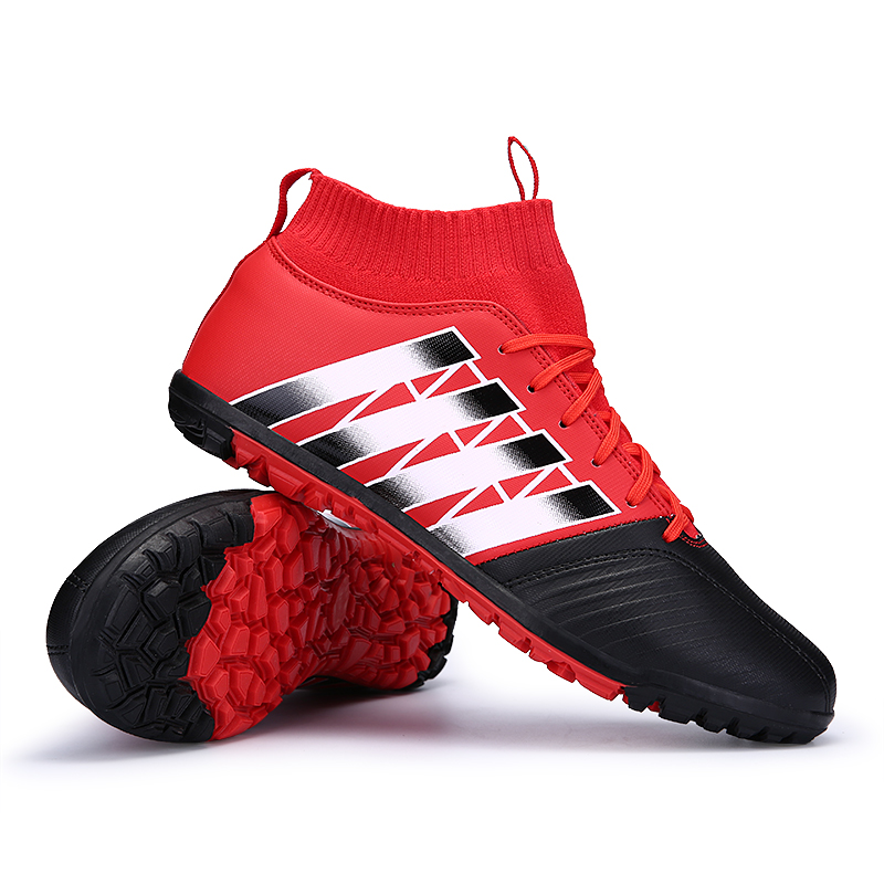 2017 High Ankle Kids Football Boots Superfly Original Cheap Indoor Soccer Shoes Cleats Boys Girls Sneakers High Quality health top soccer shoes kids football boots cleats futsal shoes adult child crushed breathable sport football shoes plus 36 45