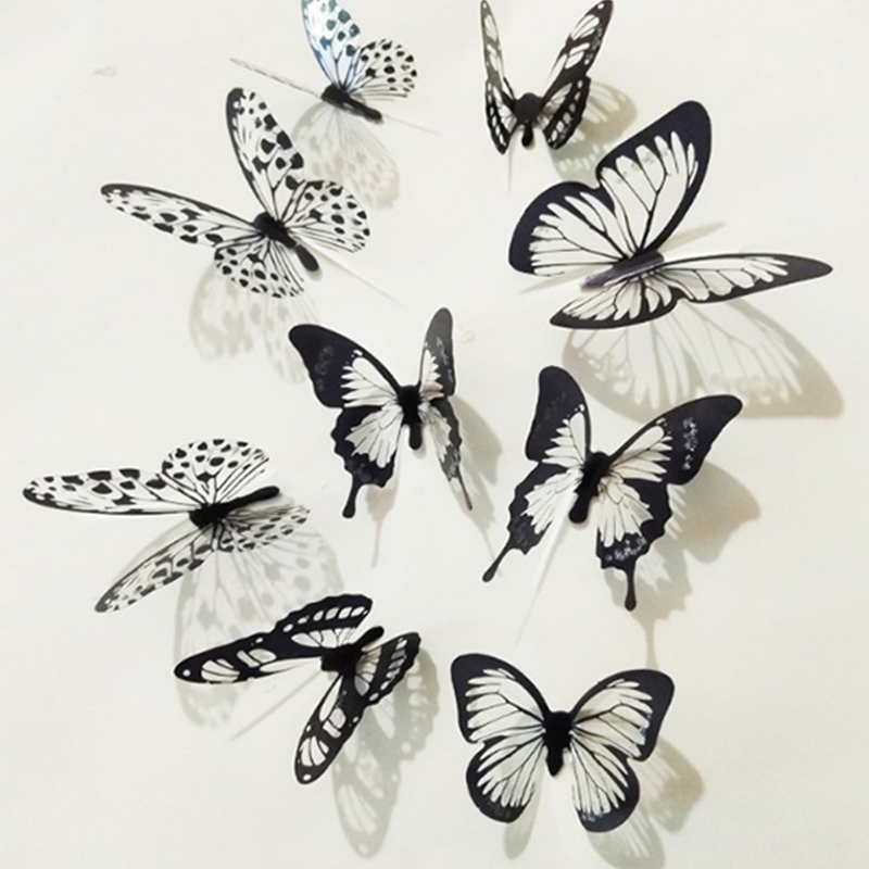 Wall Butterfly Decoration Sticker Waterproof PVC Home