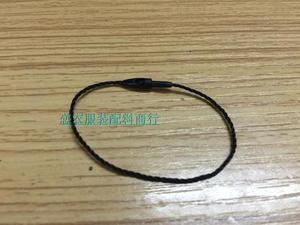 В наличии хорошее качество 12 см длина черный тег шнур в одежде, повесить тег шнур для одежды, нивелирование цена уплотнение тег пуля