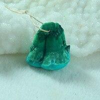 Natural Malachite Roughs, Malachite Gemstone Natural Pendant Bead,Semiprecious jewelry earring,30x27x20mm.29.3g