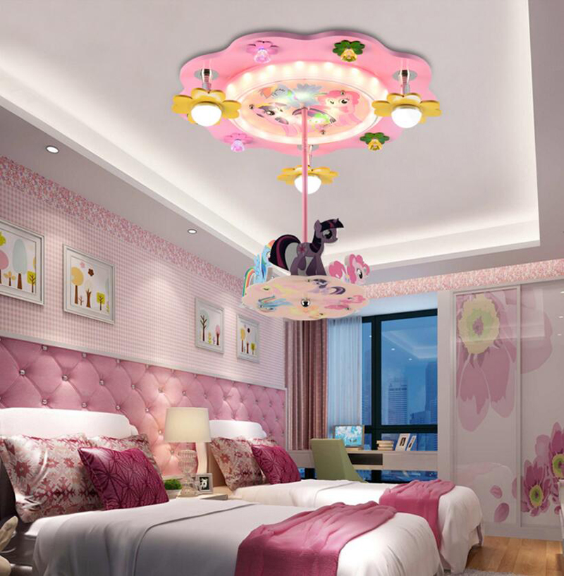 Merry Children Room Creative Fashion Cartoon Ceiling Lamps Princess Bedroom  Light Girl Kids Room Lighting In Ceiling Lights From Lights U0026 Lighting On  ...